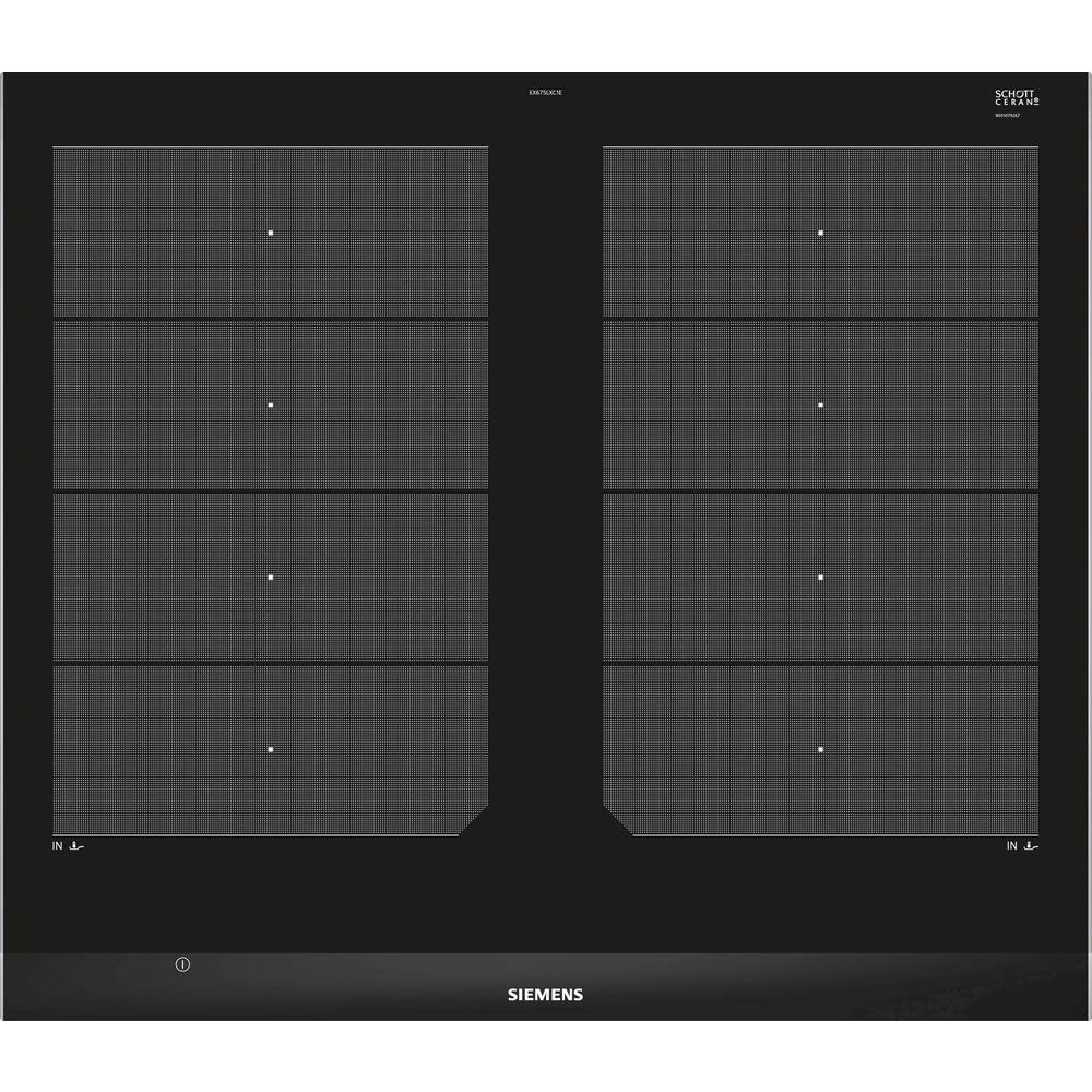 induktions kochfeld 602 mm siemens ex675lxc1e autark im conrad online shop 1557610. Black Bedroom Furniture Sets. Home Design Ideas