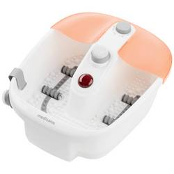 Perličková kúpeľ na nohy s ohrevom vody Medisana FS 883, biela, oranžová