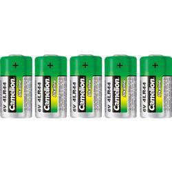 Špeciálny typ batérie 476 A alkalicko-mangánová, Camelion 4LR44, 150 mAh, 6 V, 5 ks