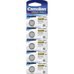 Knoflíkový článek CR 2450 lithiová Camelion CR2450 550 mAh 3 V 5 ks