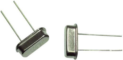 Quarzkristall EuroQuartz QUARZ HC49/US Bauform (Quarze): HC49/4H 3.6864 MHz 18 pF (L x B x H) 3.68 x 10.26 x 3.5 mm