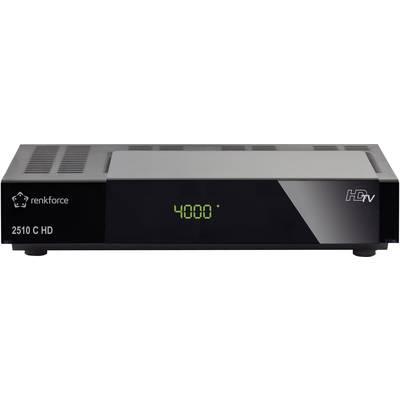 Renkforce 2510C HD-Kabel-Receiver Aufnahmefunktion, Front-USB Anzahl Tuner: 1 Preisvergleich