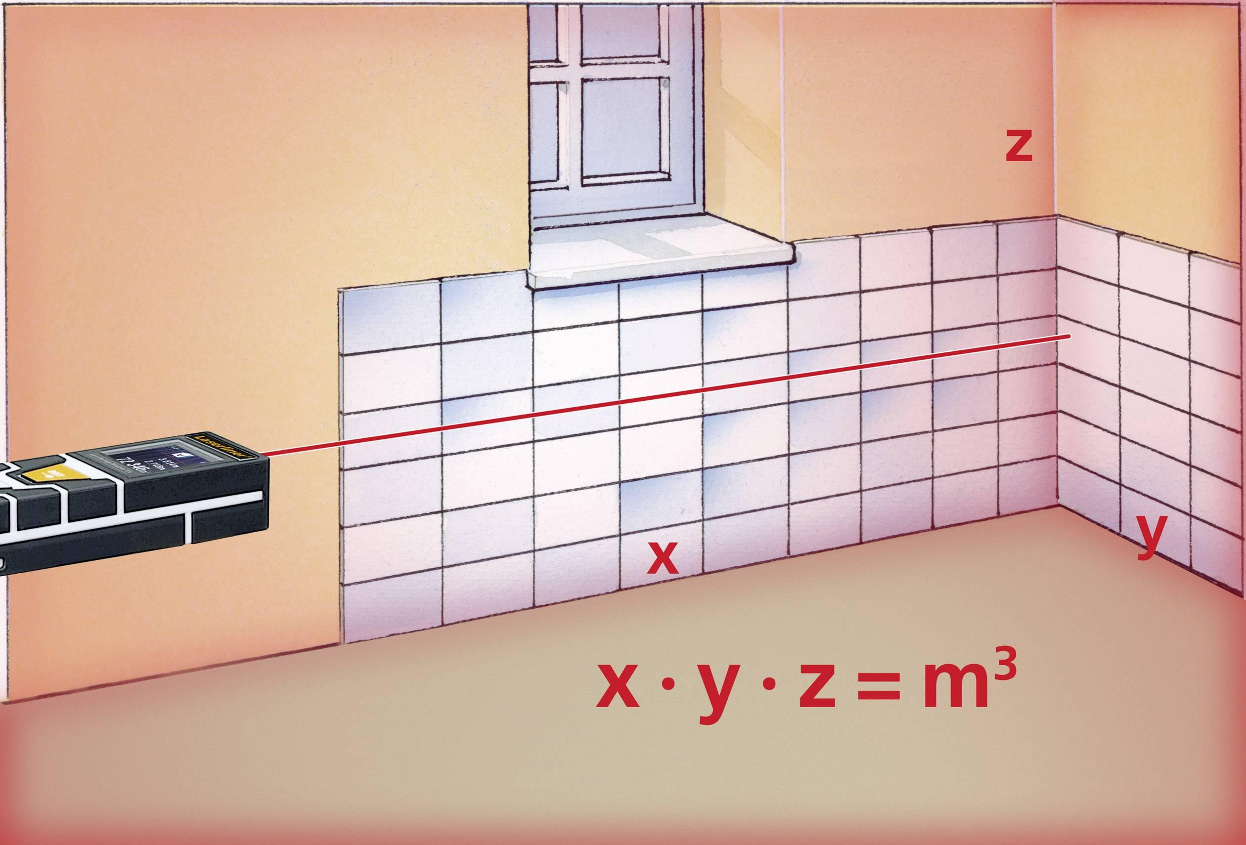 Laserliner laserrange master t laser entfernungsmesser