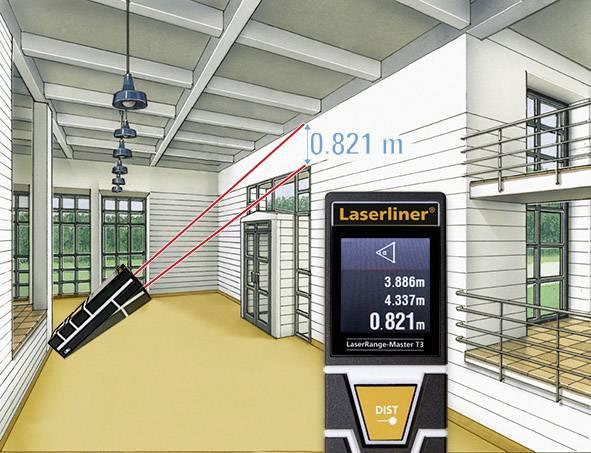 Laser Entfernungsmesser Laserliner : Laserliner laserrange master t laser entfernungsmesser