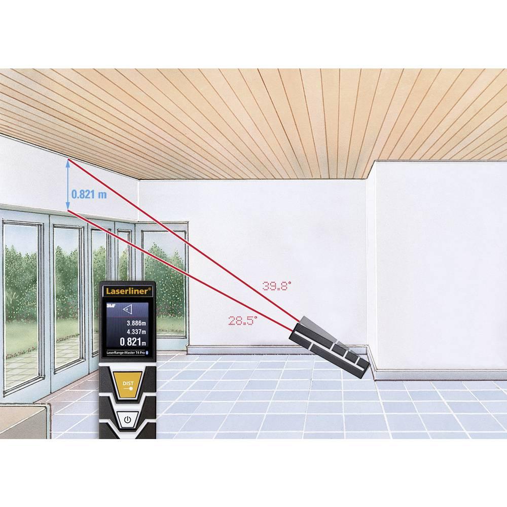 laserliner laserrange master t4 pro laser entfernungsmesser bluetooth messbereich max 40 m. Black Bedroom Furniture Sets. Home Design Ideas