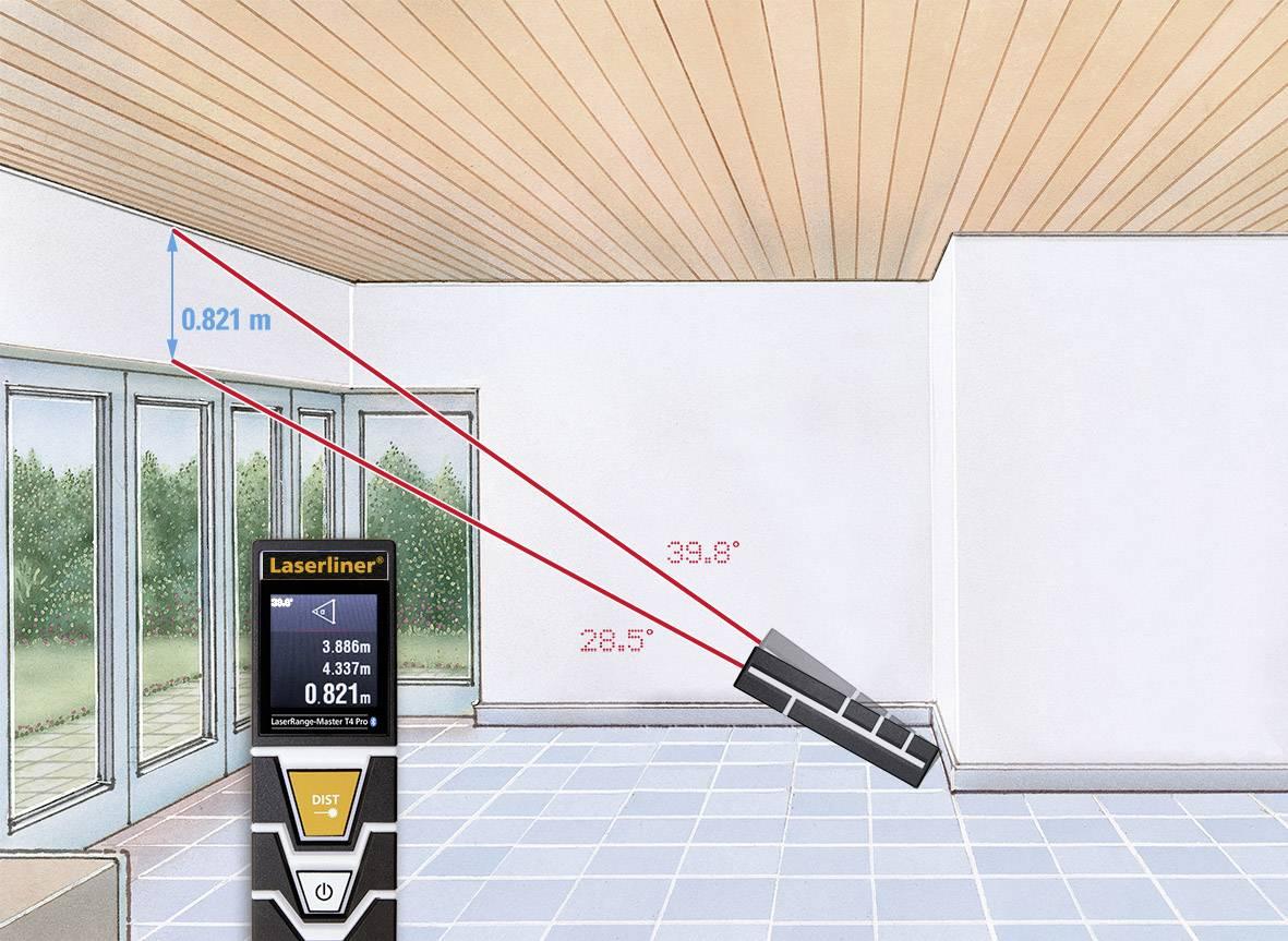 Laserliner laserrange master t pro laser entfernungsmesser