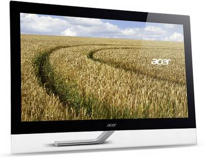 Monitor touch screen (27 pollici) Acer T272HL 1920 x 1080 Pixel 16:9 (1080p) 5.00 ms HDMI ™, USB 3.0, VGA VA LED