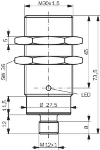 Induktiver Näherungsschalter M30 quasi bündig PNP Contrinex DW-AS-503-M30-002