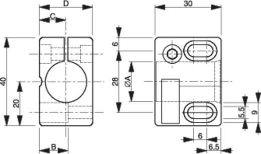 Sensorhalter Contrinex ASU-0001-180