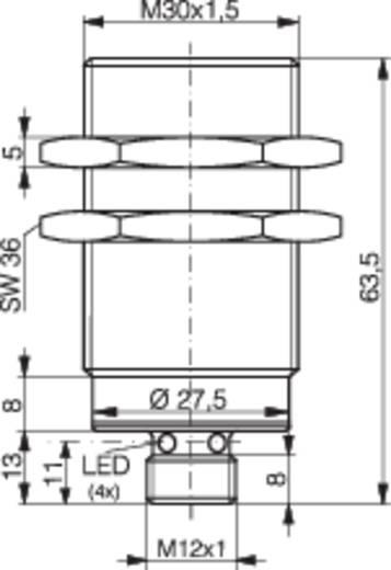 Induktiver Näherungsschalter M30 bündig PNP Contrinex DW-AS-703-M30-002