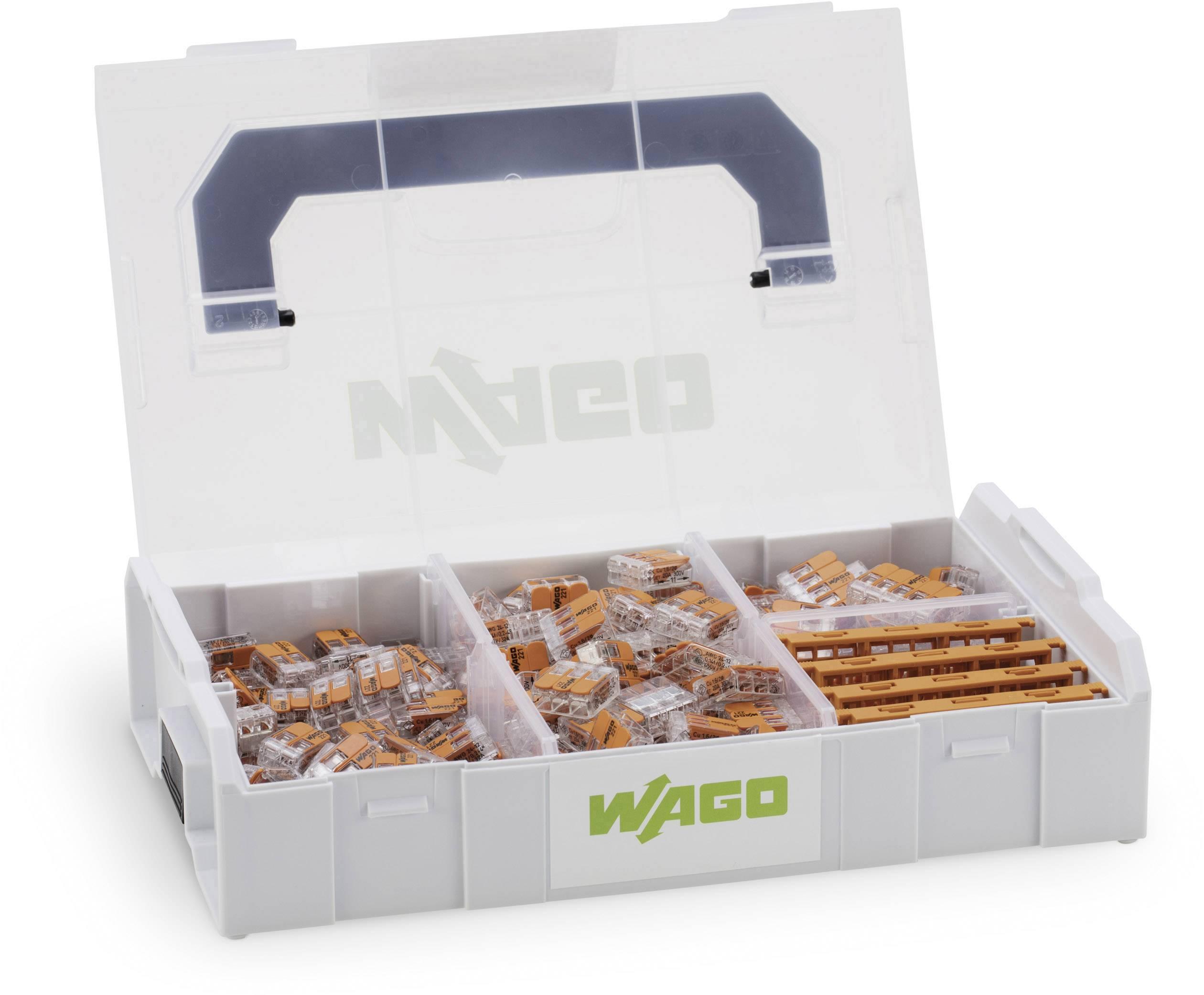 WAGO WA-741-644 Verbindungsklemmen-Sortiment flexibel 0.14-4 mm² starr 0.2-4 m