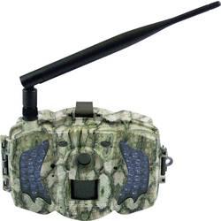 Fotopasca Berger & Schröter 3G MMS/GPRS Wild-Kamera, 30 MPix, GSM modul, čierne LED diódy, nahrávanie zvuku, diaľkové ovládanie, maskovacia zelená