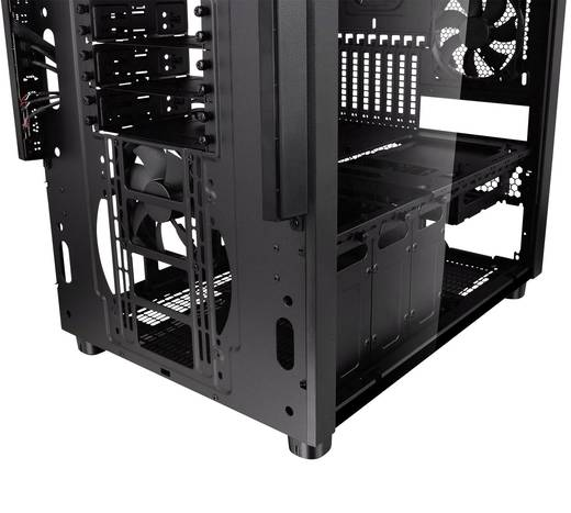 midi tower pc geh use thermaltake core x5 tg schwarz 2. Black Bedroom Furniture Sets. Home Design Ideas
