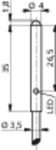 Reflexions-Lichttaster LTK-1040-303-506 Contrinex hellschaltend 10 - 30 V/DC 1 St.