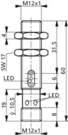 Reflexions-Lichttaster LTS-1120-303 Contrinex hellschaltend 10 - 36 V/DC 1 St.