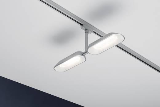 paulmann dipper hochvolt schienensystem leuchte urail led fest eingebaut 16 w led chrom matt. Black Bedroom Furniture Sets. Home Design Ideas