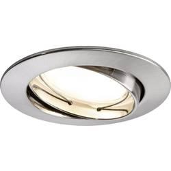 LED vstavané svetlo Paulmann Coin 93964, 21 W, sada 3 ks, železo (kartáčovamé)