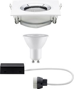 Vestavné svítidlo do koupelny - LED Paulmann Nova 92904, 7 W, sada, bílá (matná), chrom