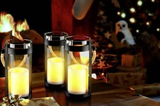 Polarlite LED-Laterne Warm-Weiß (Ø x H) 10 cm x 21 cm