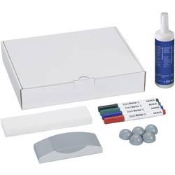 Sada příslušenství pro bílou popisovací tabuli Maul karton vč. 4 fixů na tabuli, mazací houby, čisti