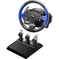 Thrustmaster T150 Pro Force Feedback + T3PA volant USB 2.0 PlayStation 3, PlayStation 4, PC čierna, modrá vr. pedálov