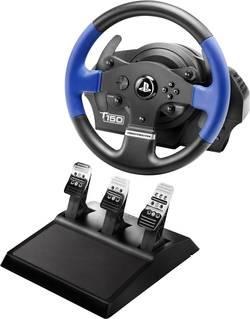 Volant Thrustmaster T150 Pro Force Feedback + T3PA USB 2.0 PlayStation 3, PlayStation 4, PC černá/