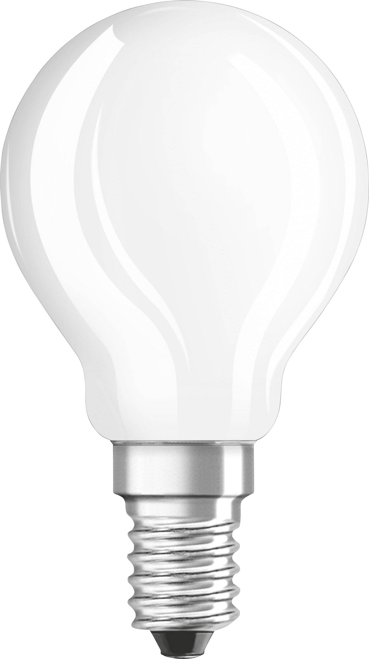 25W E14 827 300° NODIM klar Philips LED Tropfenlampe Classic 2W