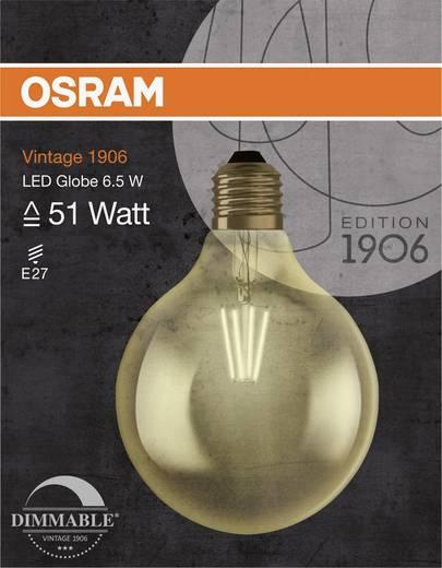 OSRAM LED EEK A+ (A++ - E) E27 Globeform 6.5 W = 51 W Warmweiß (Ø x L) 125 mm x 173 mm 1 St.