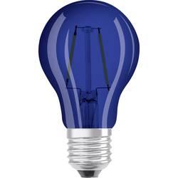 LED žárovka OSRAM 4058075816008 230 V, E27, 2 W = 15 W, modrá, A+ (A++ - E), vlákno, 1 ks