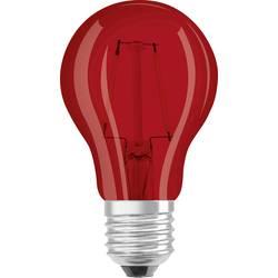 LED žárovka OSRAM 4058075816060 230 V, E27, 2 W = 15 W, červená, A+ (A++ - E), vlákno, 1 ks