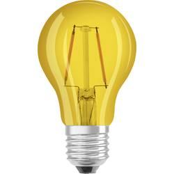 LED žárovka OSRAM 4058075816084 230 V, E27, 2 W = 15 W, žlutá, A+ (A++ - E), vlákno, 1 ks
