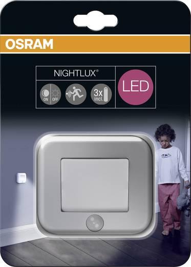 led nachtlicht mit bewegungsmelder quadratisch led neutral wei osram nightlux hall silver. Black Bedroom Furniture Sets. Home Design Ideas