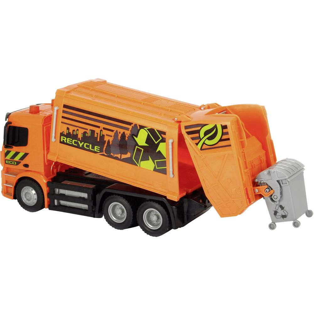 Dickie toys 201119084 rc mercedes benz antos garbage truck for Mercedes benz truck toys