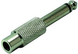 Adaptateur jack TRU COMPONENTS 1559804 Jack mâle 6.35 mm - Cinch / RCA femelle mono 1 pc(s)
