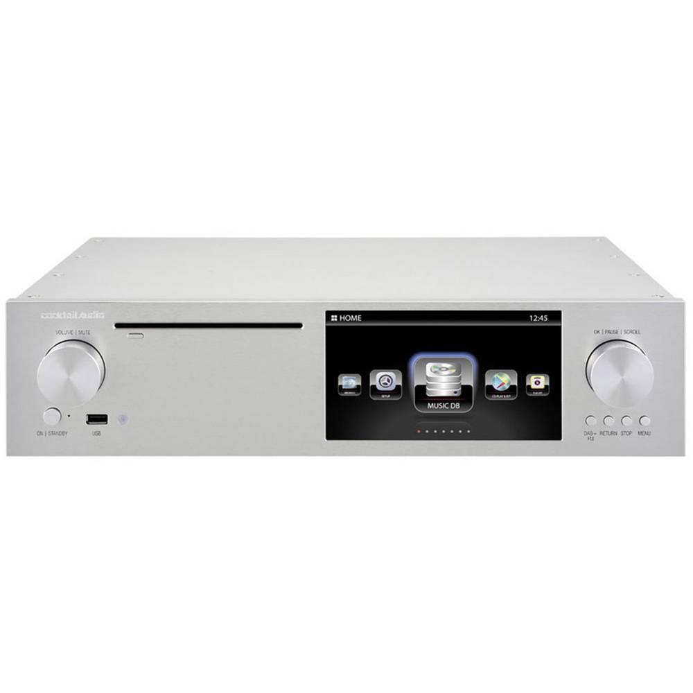 cocktail audio x50 internetradio hifi tuner silber im. Black Bedroom Furniture Sets. Home Design Ideas