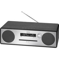 DAB+ CD rádio AEG MC 4469, AUX, Bluetooth, CD, DAB+, USB, FM, černá