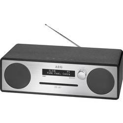 DAB+ rádio s CD prehrávačom AEG MC 4469, AUX, Bluetooth, CD, DAB+, USB, UKW, čierna