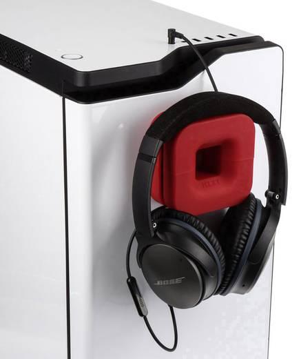 Kopfhörerhalterung NZXT Puck integrierte Kabelführung Rot