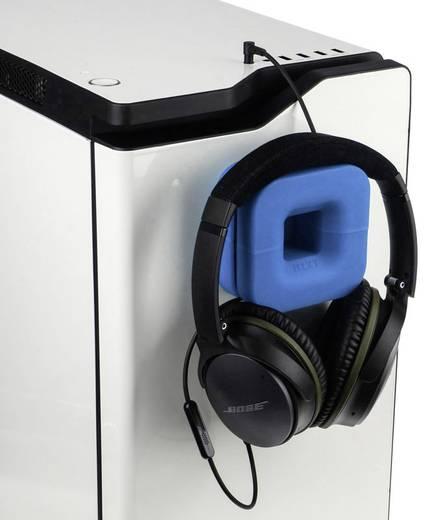 Kopfhörerhalterung NZXT Puck integrierte Kabelführung Blau