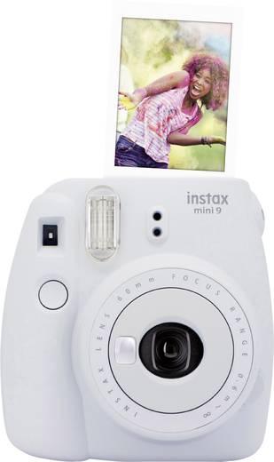 Sofortbildkamera Fujifilm Instax Mini 9 Smoke, Weiß