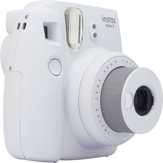 Fujifilm Instax Mini 9 Sofortbildkamera Smoke, Weiß