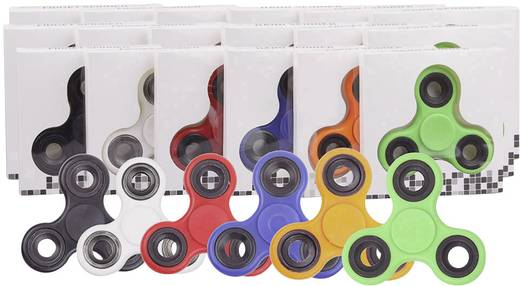 Fidget Spinner Bunt, Farbauswahl nicht möglich
