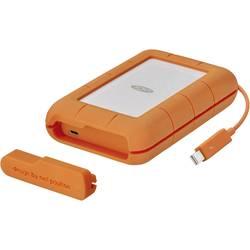 """Externí HDD 6,35 cm (2,5"""") LaCie Rugged Thunderbolt, 4 TB, USB-C™, Thunderbolt, stříbrná, oranžová"""
