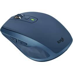Laserový/á Wi-Fi myš Logitech MX Anywhere 2S 910-005154, je možné znovu nabíjať, polnočná modrá