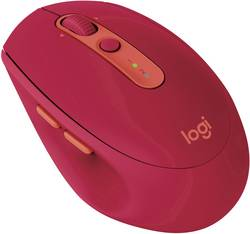 Souris Bluetooth optique Logitech M590Multi-Device Silent rubis