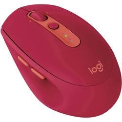 Optická Wi-Fi myš Logitech M590Multi-Device Silent 910-005199, rubínová
