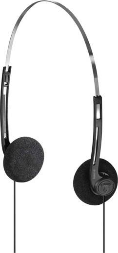 hama basic4music kopfh rer on ear leichtb gel schwarz kaufen. Black Bedroom Furniture Sets. Home Design Ideas