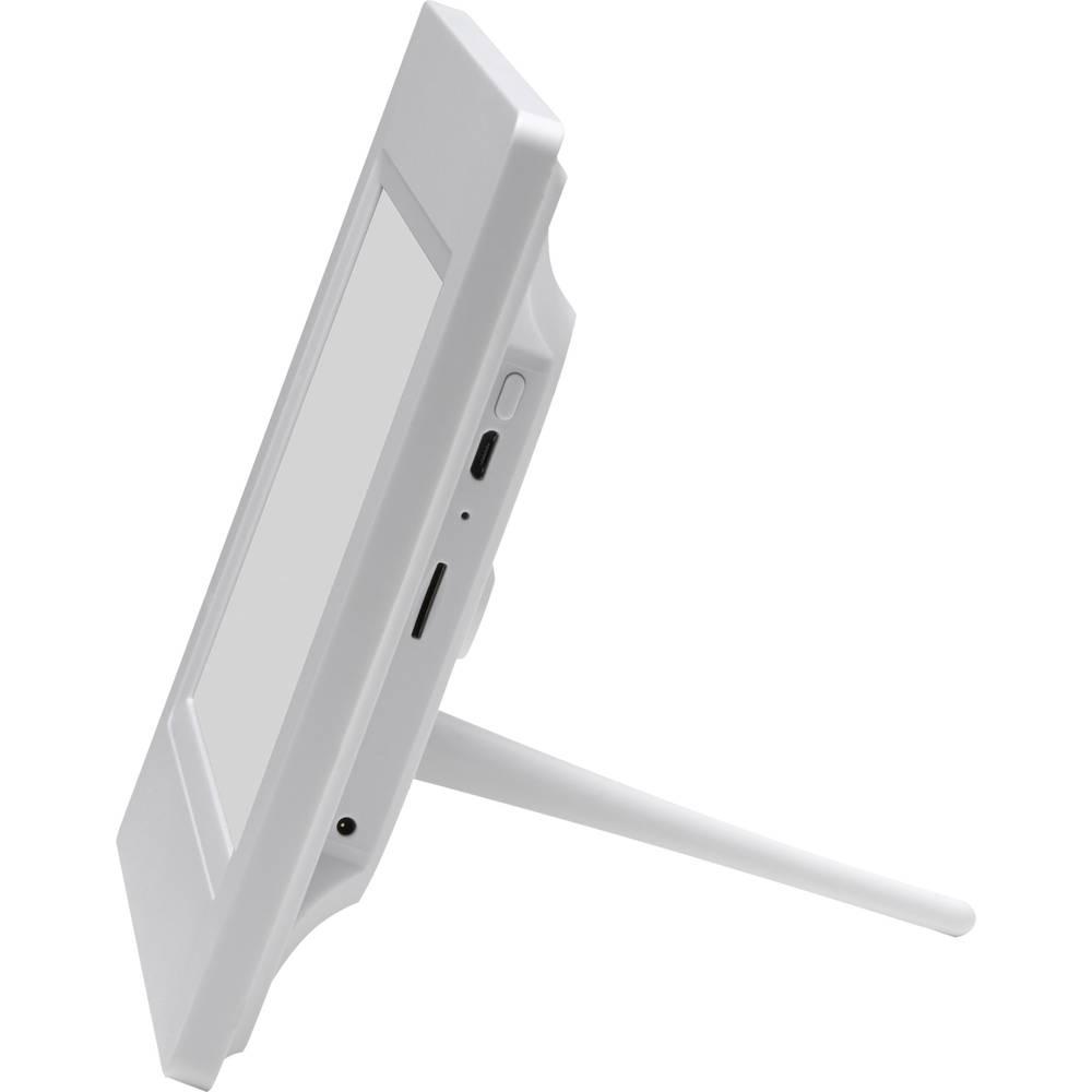 Denver PFF-710 White Digitaler WiFi-Bilderrahmen 17.8 cm 7 Zoll 1024 ...