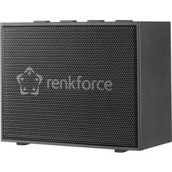 Bluetooth® reproduktor Renkforce BlackBox1 hlasitý odposluch, AUX, čierna