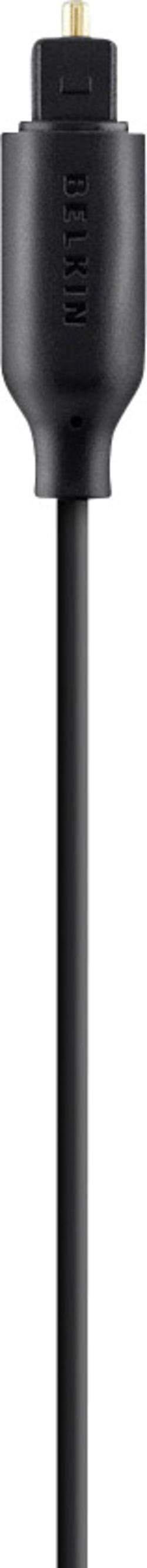 Câble de raccordement Belkin F3Y093bt1M [1x Toslink mâle (ODT) - 1x Toslink mâle (ODT)] 1 m noir contacts dorés